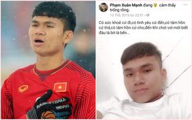 """Không còn nghi ngờ gì nữa, Phạm Xuân Mạnh của U23 Việt Nam chính là chàng cầu thủ chỉ cần thở nhẹ là ra cả rổ """"quote"""""""