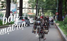 """30 năm rong ruổi đường phố Sài Gòn của """"chú Bảy mặt nạ"""": Từng đạp xe suốt nhiều ngày không bán nổi 1 chiếc!"""