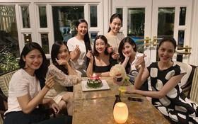 Hội chị em Hoa hậu - Á hậu tổ chức sinh nhật cho Đỗ Mỹ Linh, đập tan định kiến về tình bạn giữa Vbiz thị phi