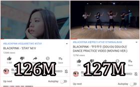 """Nghịch lý lạ đời của Black Pink: Video chỉ quay vũ đạo của """"Ddu-du Ddu-du"""" mà vượt cả view MV chính thức """"Stay"""""""