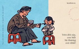 Trên đời này có một người phụ nữ còn thương chúng ta hơn cả mẹ