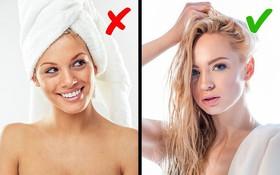 Những lỗi sai phổ biến khi tắm gội có thể gây ảnh hưởng nghiêm trọng tới sức khỏe của bạn