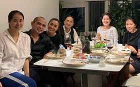 Vợ chồng Hà Tăng sóng đôi xuất hiện, mang món quà đặc biệt đến chúc mừng sinh nhật con gái Phạm Anh Khoa