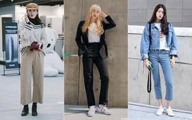 """Nếu thích mặc đồ đơn giản nhưng phải thật """"cool"""", bạn nhất định nên ngắm street style của giới trẻ Hàn tuần qua"""