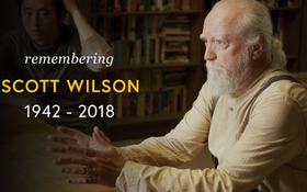 """Vĩnh biệt Scott Wilson - Vị bác sĩ thú y tận tâm của """"The Walking Dead"""""""