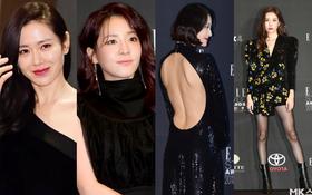 Thảm đỏ Elle Style Awards: Son Ye Jin nóng bỏng bên Dara, nhưng một người mẫu bỗng chiếm sóng vì hở bạo