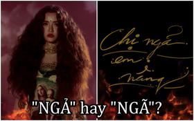 """Bài hát mới của Bích Phương tên là """"Chị ngả em nâng"""", không phải """"ngã"""" mà nên hiểu chữ """"ngả"""" này theo nghĩa nào đây?"""