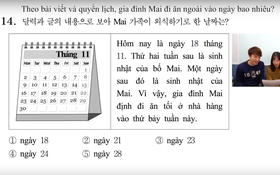 Thử sức với đề thi môn Tiếng Việt trong kỳ thi Đại học ở Hàn Quốc: Tưởng không khó mà khó không tưởng