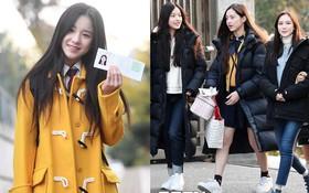 Bình thường cầu kì với đủ kiểu trends mà tới khi đi thi đại học, các idol Hàn cũng chỉ mặc đúng 2 kiểu áo khoác này