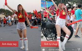 Hot girl phòng gym nổi tiếng nhờ sexy: Lộ đôi chân ngắn, da ngăm trong ảnh bị tag, khác xa với ảnh tự đăng