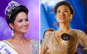 Xuất hiện nữ sinh tóc ngắn, da nâu giống hệt H'Hen Niê đăng quang Hoa khôi Xây dựng 2018