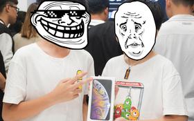 Làm anh khó lắm: Cậu học sinh lớp 8 thức đêm chờ mua iPhone XS Max nhưng phải dùng chung với em trai