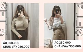 Trời chớm lạnh, nàng công sở xem ngay gợi ý 6 set đồ với áo len mỏng, dễ mặc và giá siêu hợp lý