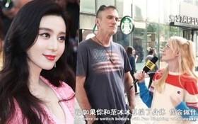 """Phản ứng của fan ngoại quốc trước câu hỏi """"Làm gì nếu được biến thành Phạm Băng Băng"""" khiến netizen xấu hổ"""