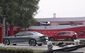 """Clip: Những hình ảnh """"nóng"""" về 4 mẫu xe VinFast sắp trình làng chiều nay"""
