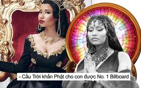 Tin vui là Nicki Minaj có 100 bài hát lọt Billboard Hot 100, còn tin buồn là chả bài nào được No.1 cả