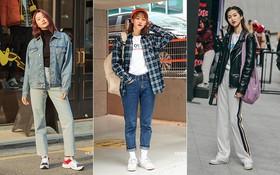 """Street style không áo dạ, áo phao của giới trẻ Hàn tuần qua chính là gợi ý mix đồ tuyệt vời cho """"mùa đông không lạnh"""" ở Hà Nội lúc này"""