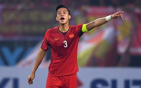 """Trung vệ """"cứng"""" nhất tuyển Việt Nam chấn thương trước trận chung kết AFF Cup 2018"""