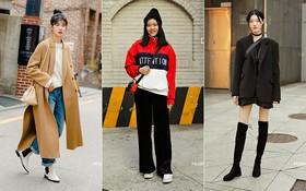 Street style giới trẻ Hàn tuần qua chứng minh: thích mặc kín mít hay sexy thì bạn cũng có cả chục cách mix đồ cho đủ ấm