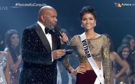 """Trực tiếp chung kết Miss Universe 2018: H'Hen Niê tự hào nói """"Xin chào"""" bằng tiếng Việt"""