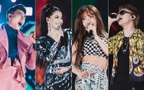 Loạt khoảnh khắc khó quên: EXID tỏa sáng như nữ thần, cùng dàn ca sĩ Vpop thăng hoa trong đêm nhạc Việt - Hàn