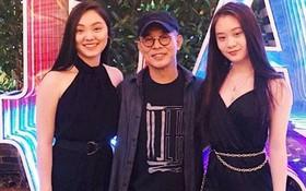 2 cô con gái tuổi teen của Lý Liên Kiệt: Chân dài miên man, nhan sắc thừa hưởng từ mẹ Hoa hậu