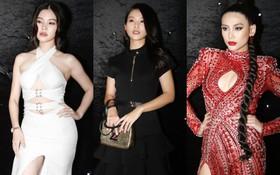 """Thảm đỏ chung kết The Face Vietnam 2018: Dàn mỹ nhân Vbiz người giản dị, người """"đua nhau"""" diện đầm cắt xẻ khoe thân hình gợi cảm"""