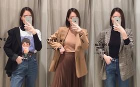 Dạo một vòng chọn mua blazer, tiện thể mách nước cho nàng công sở cách phối blazer + áo cổ lọ vừa ấm vừa đẹp