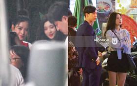 Chi Pu thân thiết, đi ăn tối cùng nữ thần Kpop Jung Chae Yeon và bạn trai tin đồn Jin Ju Hyung