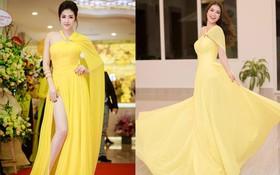 Phạm Hương và Dương Tú Anh cùng mặc chung một thiết kế, ai cũng đẹp nhưng thần thái mới là thứ quyết định tất cả