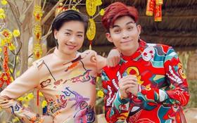 """Jun Phạm cùng Ngô Thanh Vân """"quậy"""" tưng bừng trong MV dance version """"Về quê ăn tết"""""""