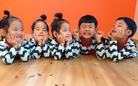 Nhà có 5 thiên thần sinh đôi và sinh ba, bà mẹ Nhật đã cho ra đời bộ ảnh đáng yêu như thế đấy