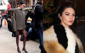 Diện style giấu quần, Kendall Jenner hút mọi ánh nhìn với đôi chân dài đẹp như búp bê