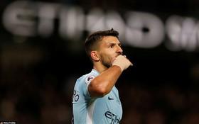 Aguero ghi 4 bàn, Man City nghiền nát cựu vương Leicester