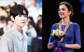 """""""Bông hồng Nga"""" Medvedeva nghe nhạc của EXO trước khi phá kỷ lục ở Olympic"""