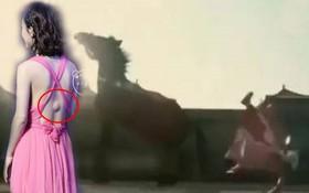 Hình ảnh lý giải vết thương sưng to sau lưng Triệu Lệ Dĩnh bất ngờ hot trở lại