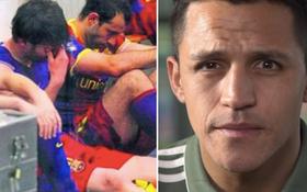 """Alexis Sanchez: """"Messi đã khóc sau khi đá hỏng penalty"""""""