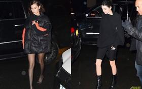 Là siêu mẫu hàng đầu, Kendall và Bella sở hữu những đôi chân khiến fan ngắm mãi không thôi