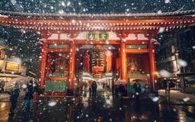 Ngắm bộ ảnh Tokyo tuyệt đẹp trong tuyết trắng dưới góc nhìn của nhiếp ảnh gia Nhật Bản