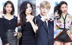 Thảm đỏ Gaon 2018: Sunmi gặp sự cố tại vùng nhạy cảm, Tzuyu và IU lột xác bất ngờ giữa dàn mỹ nhân đẹp lung linh