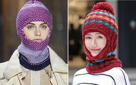 Tưởng lỗi thời lắm rồi, nào ngờ mũ len trùm đầu giờ lại là mốt mới nhất tại NYFW