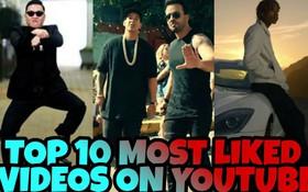 Điểm mặt 10 video được yêu thích nhiều nhất trên YouTube từ trước đến nay