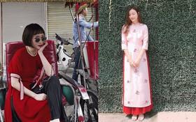 """Loạt sao và hot girl Việt cùng chọn mặc áo dài """"xinh muốn xỉu"""" trong ngày mùng 1 Tết"""