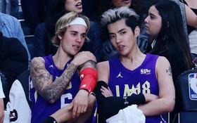 """Hot nhất ngày hôm nay: Justin Bieber và Ngô Diệc Phàm chung một khung hình, """"tám"""" hăng say quên trời đất"""