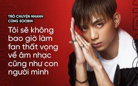 """Soobin Hoàng Sơn: """"Tôi sẽ không bao giờ làm fan thất vọng về âm nhạc và con người mình"""""""