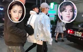 Cặp đôi Luhan - Quan Hiểu Đồng xuất hành đầu năm, ngọt ngào đưa nhau đi du lịch Nhật Bản