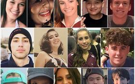 Bức ảnh khiến cả thế giới chết lặng cùng nỗi đau nước Mỹ: Chân dung 14 em học sinh tử nạn trong vụ xả súng ngày Valentine