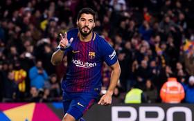 Messi kiến tạo, Suarez ghi bàn, Barca hạ Valencia ở bán kết lượt đi Cúp Nhà vua
