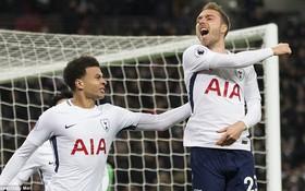 Top bàn thắng đẹp nhất vòng 25 giải Ngoại hạng Anh