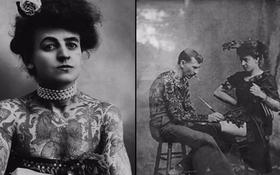 """Cuộc đời kỳ lạ của Maud Wagner: Từ kẻ mua vui trong rạp xiếc trở thành """"nữ hoàng"""" xăm mình đầu tiên của nước Mỹ"""